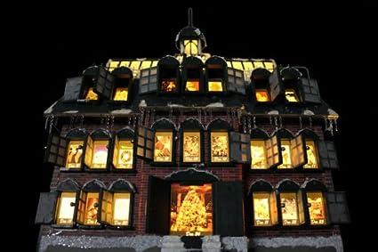 Christmas Vacation Advent House Calendar.Advent Calendar Replica Model Of The Advent House In The