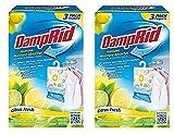 DampRid FG83CF Citrus Fresh Hanging Moisture Absorber AYuQcF, 2Pack (3 Pack, Citrus)