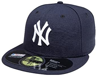 MLB New York Yankees Authentic On Field Game 59FIFTY Cap (Navy, 7)