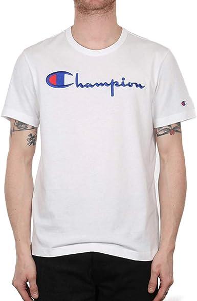 Champion Reverse Weave Camiseta para Hombre: Amazon.es ...