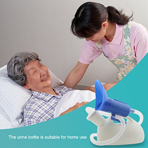 OOCOME 3 in 1 Urinal Urine Bottle Portable Pee Bottle High Capacity Thicken Urine Pot for Woman