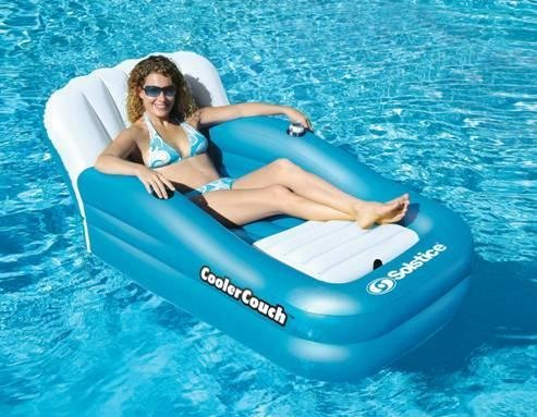 Cooler Couch -BlueWave