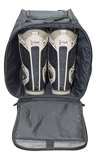 Shred Soles Snowboard Ski Boot Bag Pack with Changing Mat, Helmet & Goggle Pocket by Shred Soles (Image #2)