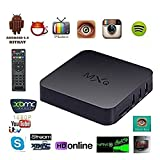 Generic MXQ Android TV Box Amlogic S805 Quad Core Kodi Pre Installed Android 4.4 XBMC 1GB RAM 8GB Flash Support Wifi