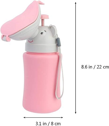 Inodoro de emergencia port/átil para orinales para beb/és y ni/ños con 3 caras para viajes en autocaravana y entrenamiento para ni/ños peque/ños