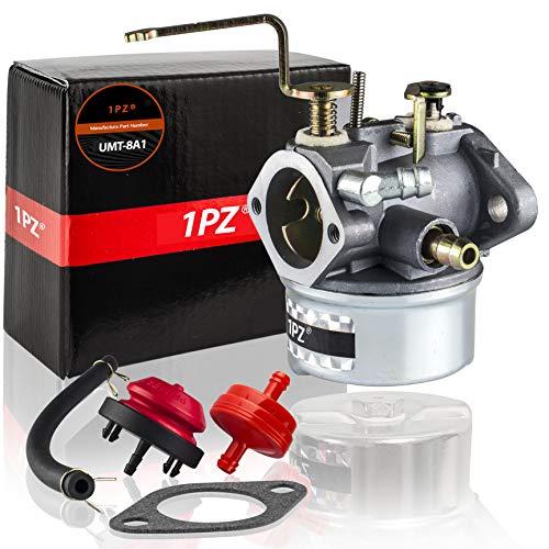 - 1PZ UMT-8A1 Carburetor for Tecumseh 640260 640260A 640260B 640269 632689 HM80 HM85 HM90 HM100 LH318XA LH358XA LH358EA 8Hp-10Hp Coleman Craftsman Generator Lawnmower Snowblower Tiller Chipper Shred