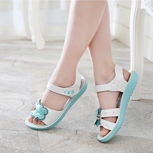 WYSBAOSHU Sommer Mädchen Sandalen Netter Schmetterling Anti Rutsch Sandale Strand Schuhe Rosa