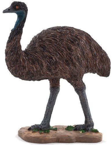 Mojo Fun 387163 Emu - Realistic Emu / Ostrich Like Toy Replica - New for 2013! ()