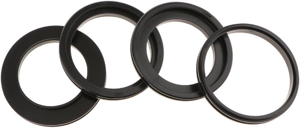Almencla Macro LED Ring Flash RF550E Kit W// 8 Adapter Rings for Sony Digital Cameras