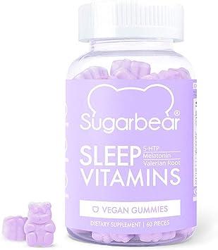 Amazon.com: SugarBear Sleep Vitaminas (1 mes de suministro ...