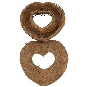 """16"""" Living Wreath Heart Form - Original Design! 3"""