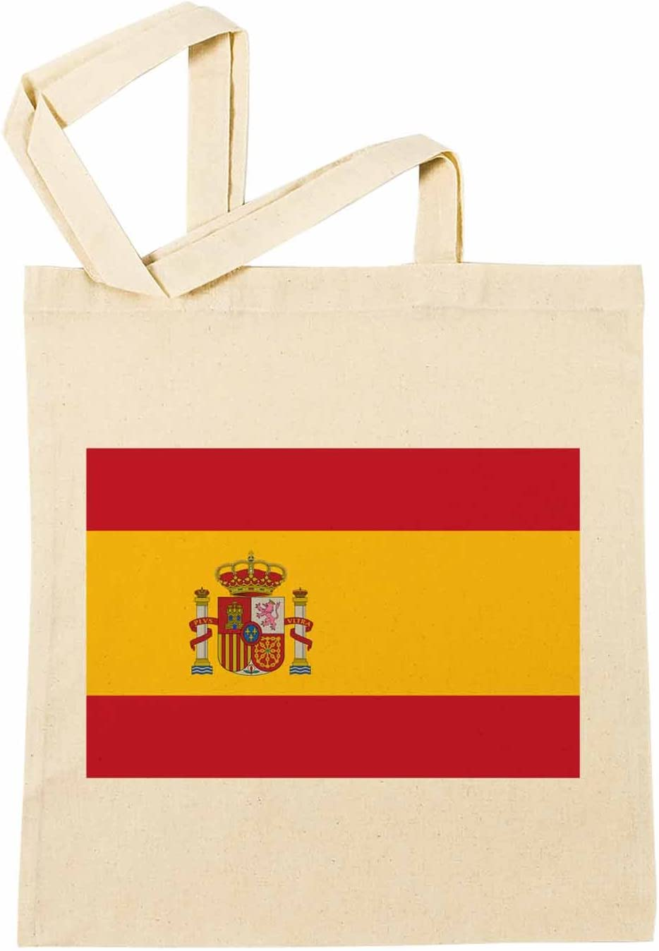 España Nacional Bandera Bolsa De Compras Playa De Algodón Reutilizable Shopping Bag Beach: Amazon.es: Hogar