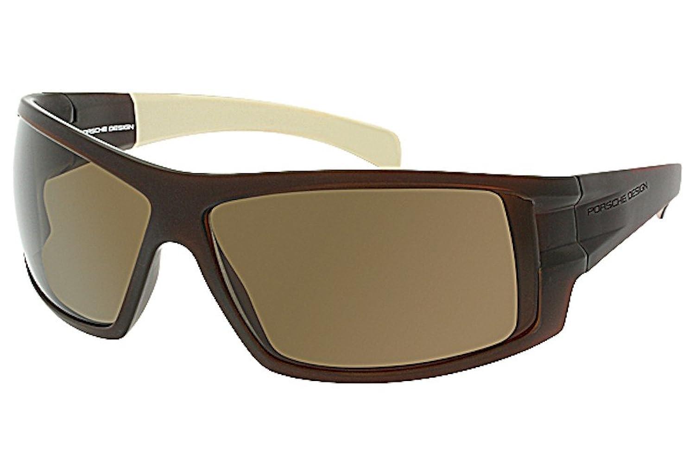 Porsche Designs Sunglasses P8503 C Matte Dark Brown, Beige Brown 71 12 120