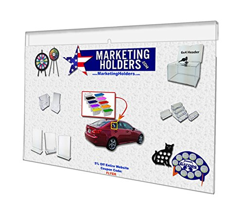 Marketing Holders 17 1/8'' w X 11 3/8'' Ad Frame by Marketing Holders
