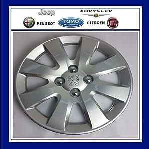PSA - Tapacubos para Peugeot 207 y 307 de 15 Pulgadas, cap5416H5 X1: Amazon.es: Coche y moto