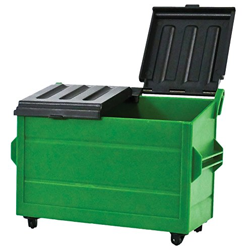Green Dumpster for WWE Wrestling Action Figures (Toy Wwe Weapons)