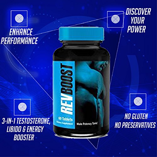 Rev Boost Natural Testosterone Booster (60 Serving)