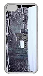 Customized iphone 5C PC Transparent Case - Winter 9 Personalized Cover