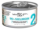 Merrick Before Grain #2 Salmon Paté Style Cat Food, 3.2 Ounce Can (24 Count Case), My Pet Supplies