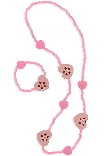 livraison gratuite économiser jusqu'à 80% sélection mondiale de Collier & bracelet coeur bois - Bijoux - Bijoux enfant ...