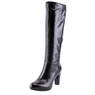 Possible Women US 5 Black Knee High Boot