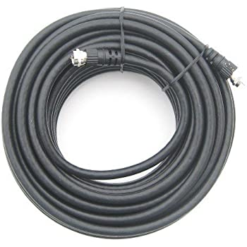 50 ft RG6 Coax Satellite / CATV Cable - Screw On F-Connector Type