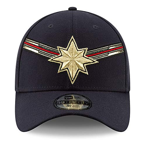 Marvel Captain Baseball Cap for Adults by New Era Studios 10th Anniversary Multi