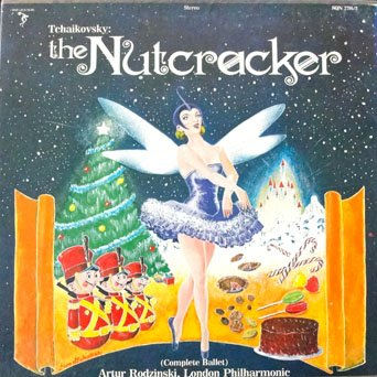 Tchaikovsky - The Nutcracker (Complete Ballet) 2 LPS Box Set London Philharmonic, Artur Rodzinski, Conductor