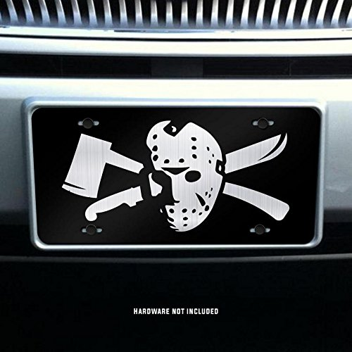 Jason Voorhees Vanity Front License Plate Tag KCE081 KCD