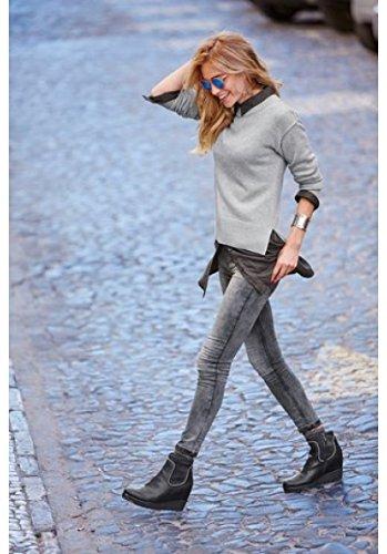 Vaqueros Aniston Aniston Ajustada Vaqueros para Mujer Ajustada para wRgZqw