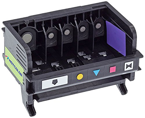 Inks Printer Printhead (HOTCOLOR 1 Pack for 564 Printhead 5-slot CB326-30002 CN642A Remanufactured Long-life for 7510 7515 7520 7525 D7560 Printer)