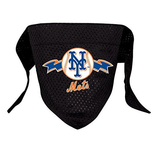 New York Mets Slide - Hunter MFG New York Mets Mesh Dog Bandana, Small