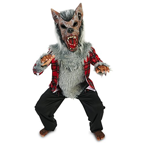 Howling Werewolf Child Dress Up Costume L (12-14)
