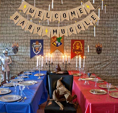 Welcome Baby Muggle Banner