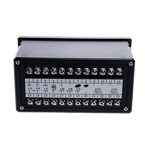 UKCOCO Regolatore di temperatura digitale sistema di controllo automatico dellincubatore a 220 V Sistema di controllo dellincubatrice ad uovo con sensore di umidit/à di temperatura