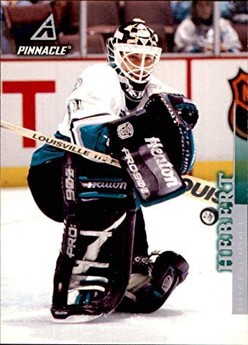 (1997-98 Pinnacle #90 Guy Hebert ANAHEIM MIGHTY DUCKS NHL (Box71))