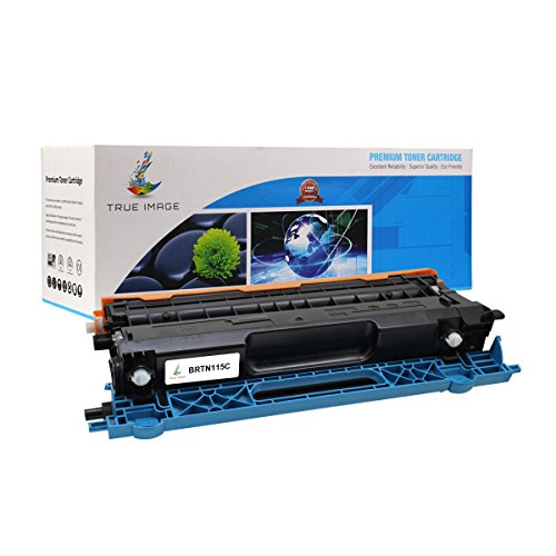 TRUE IMAGE BRTN115C Compatible Toner Cartridge Replacement for Brother TN-115C (Cyan)