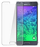 QAWACHH Tempered Glass For Samsung Galaxy G850 alpha (Buy1 Get1)(Free Wipes)