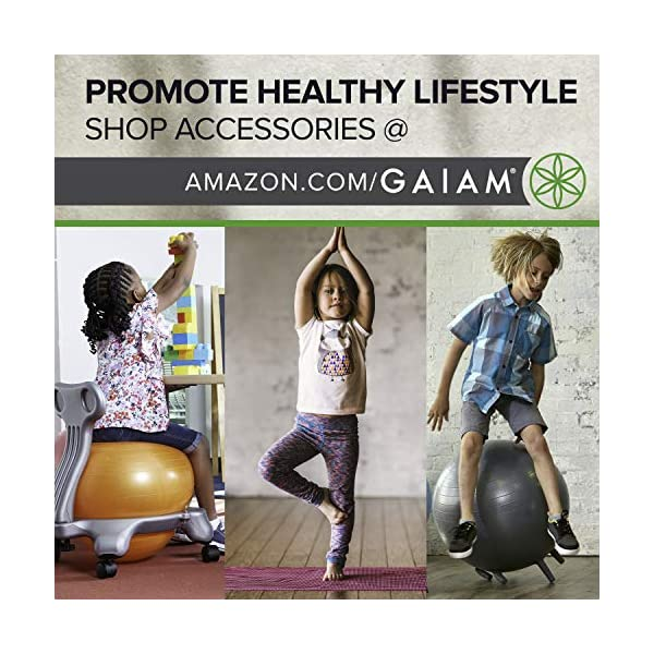 Gaiam Kids Yoga Mat Exercise Mat Yoga for Kids with Fun Prints Active /& Calm Toddlers and Young Children Playtime for Babies