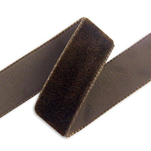 - 36MM Imported Velvet Ribbon - Dark Brown