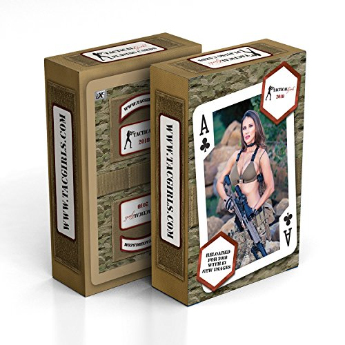 2018 Tactical Girls Calendar Playing Cards (Airmans Girl)