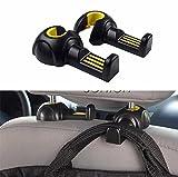 2pcs Car Styling Seat Back Pothook For Opel Astra H G J Insignia Mokka Corsa Renault Duster Iaguna Megane 2 Logan Clio Captur