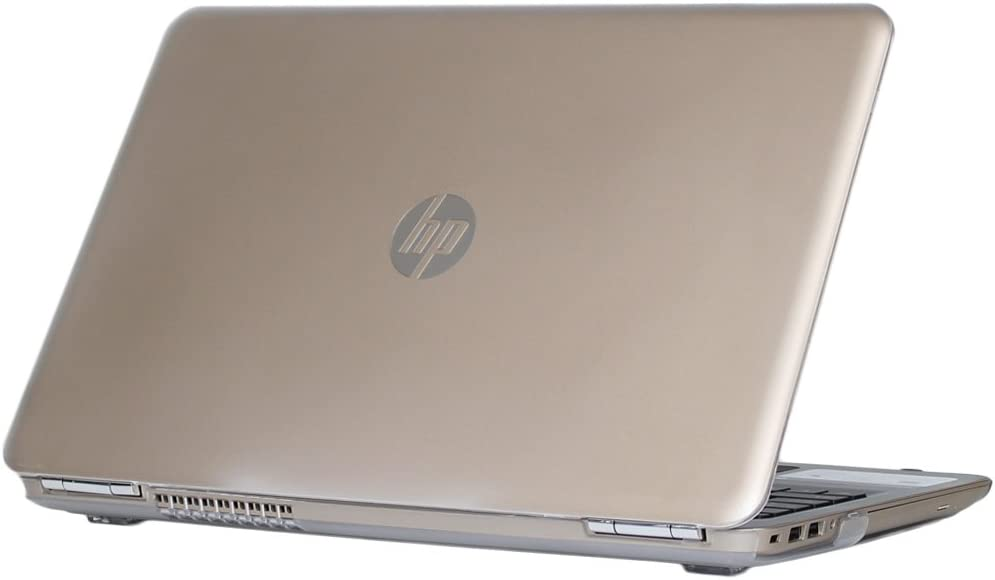 "mCover Hard Shell Case for 15.6"" HP Pavilion 15-auXXX / 15-awXXX (15-au000 to15-au999) Series (NOT Fitting 15-ayXXX or 15-baXXX Series or Envy laptops) Notebook PC (Pavilion-15-AU Clear)"