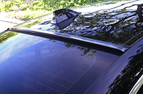 HIGUMA CARBON LOOK For 2013 2014 2015 2016 2017 NISSAN ALTIMA SEDAN 4D Rear Window Roof Spoiler (Rear Look Window)