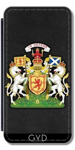 Leder Flip Case Tasche Hülle für Apple Iphone 7 / Iphone 8 - Schottland Wappen by Carsten Reisinger
