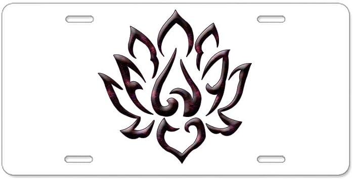 Front License Plate Vanity Tag Aluminum License Plate CafePress Eastern Star Floral Emblems Aluminum License Plate
