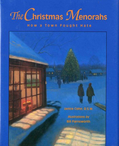 The Christmas Menorahs: How a Town Fought Hate (Concept Books (Albert Whitman)) (Classic Menorah)