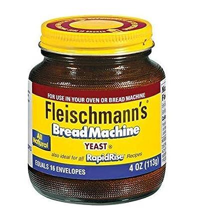 Fleischmanns - Levadura para máquina de pan, también ideal ...