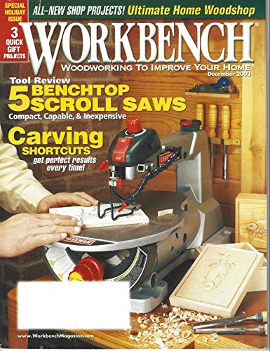 (2003 Workbench Magazine: Benchtop Scroll Saws/Carving Shortcuts/Home Woodshop)