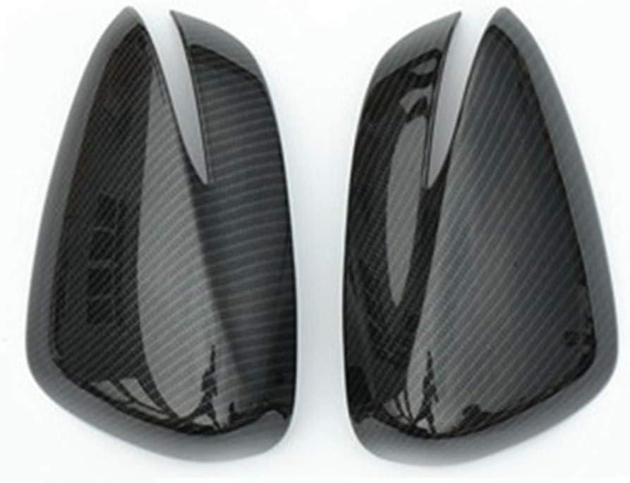 Repair Tools Ersatz-Covers Auto-Seitenr/ückspiegel Abdeckung Trim Au/ßenspiegel Kappen for Mazda CX-5 2015-2016 CX-4 CX-3 2016-2018 Farbe : Schwarz